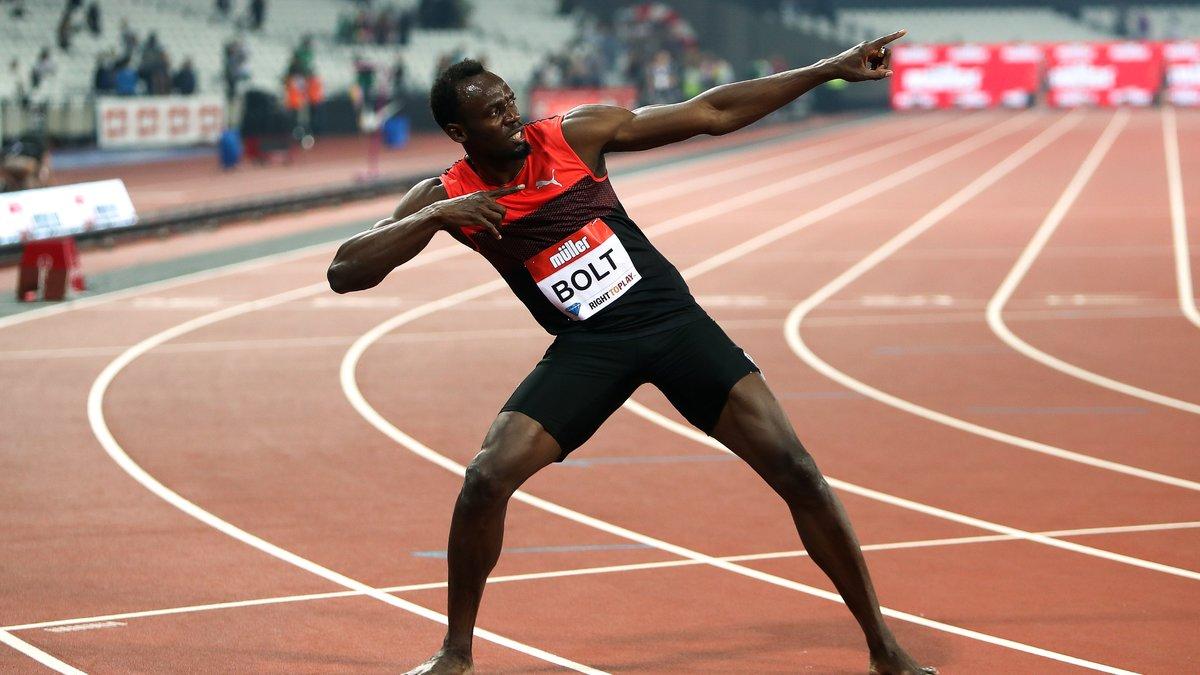 Quand Pelé s'enflamme pour Usain Bolt