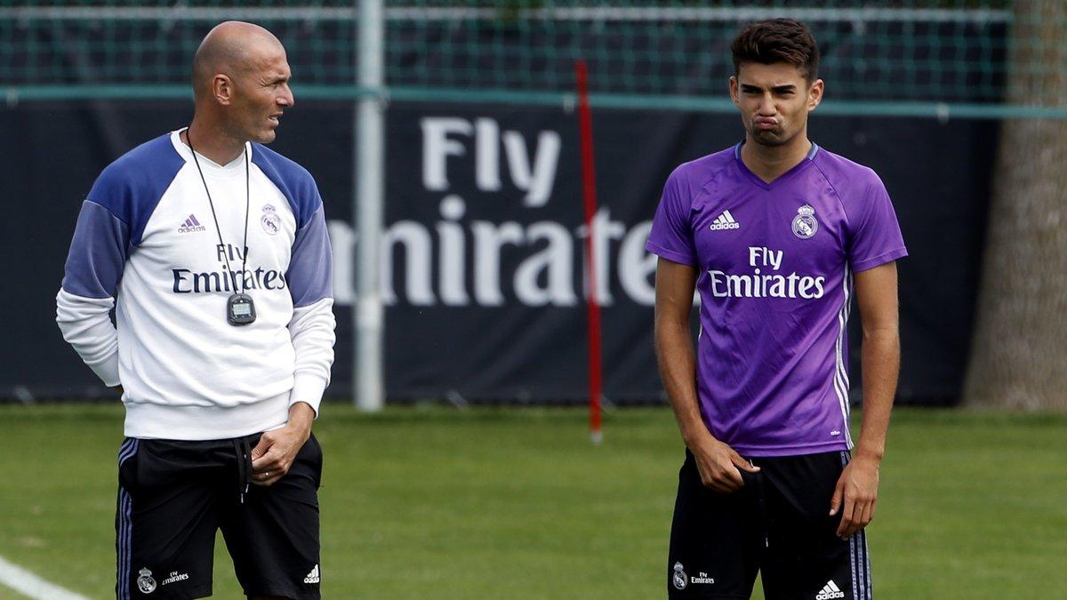 Real Madrid : Zidane jette un énorme froid sur l'avenir de son fils Enzo