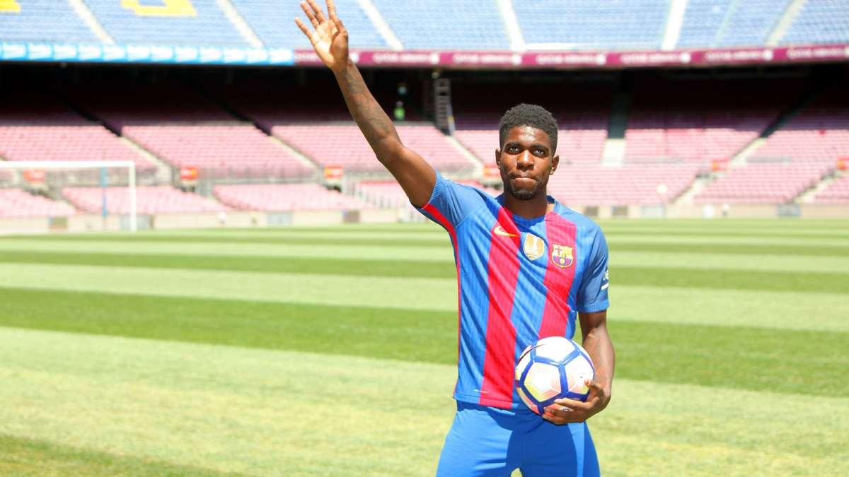 Umtiti de retour, pas Mathieu — Barcelone