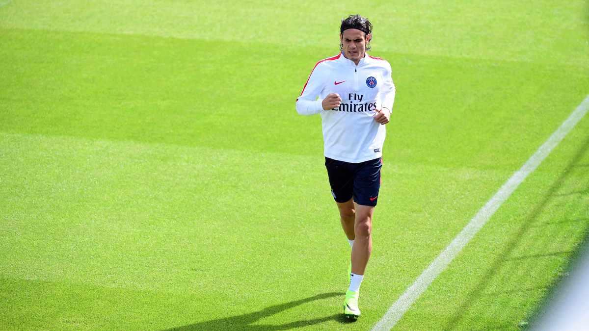 PSG : Unai Emery encense Edinson Cavani en glissant un petit tacle à Laurent Blanc