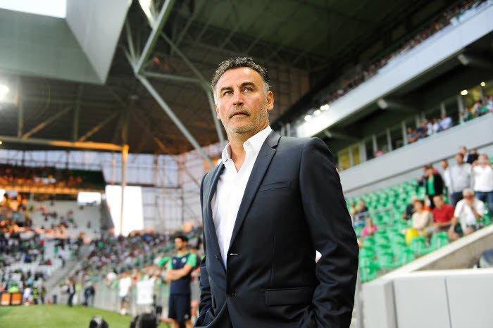 Rennes a mis fin à l'état de grâce de Christophe Galtier — ASSE