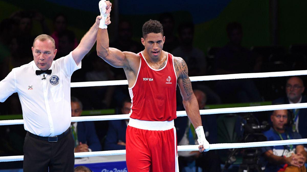 Boxe : La joie de Tony Yoka après sa médaille d'or olympique
