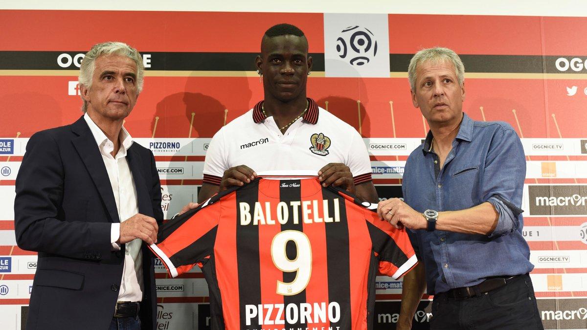 La sortie du président de l'OGC Nice sur le recrutement de Mario Balotelli