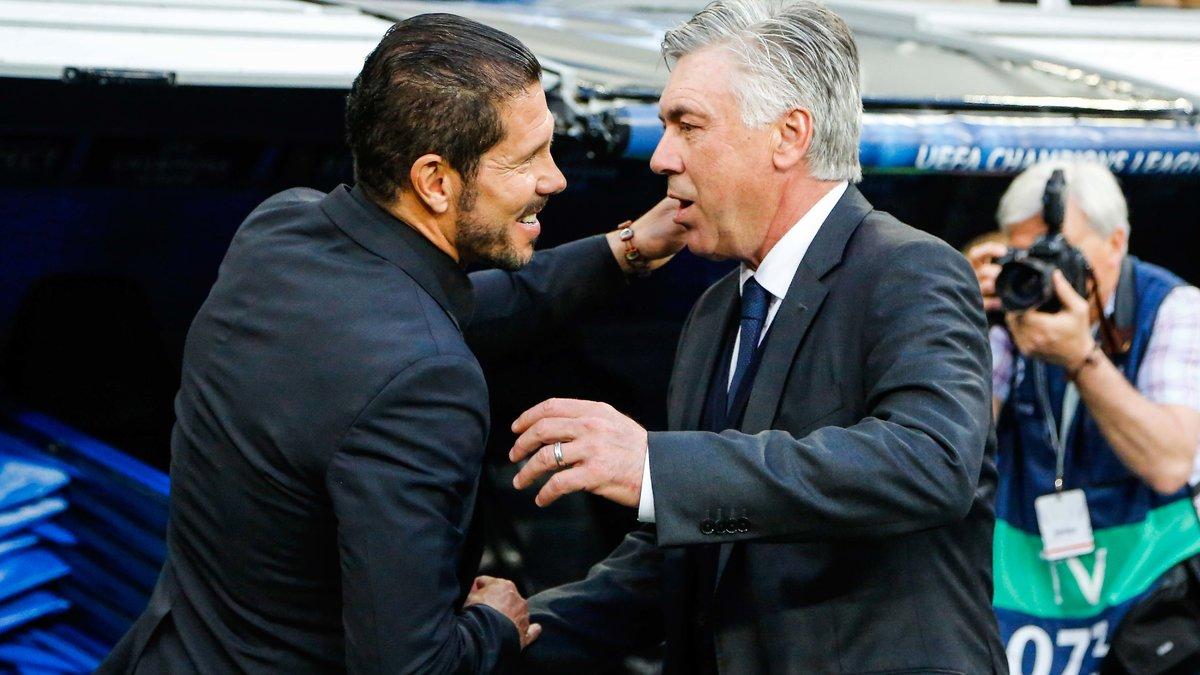 Bayern Munich - Insolite : Quand Carlo Ancelotti ironise sur les qualités de Diego Simeone