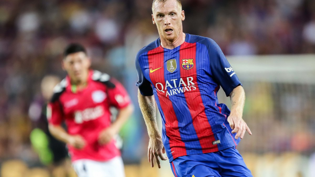 Mathieu sur le départ — Barça