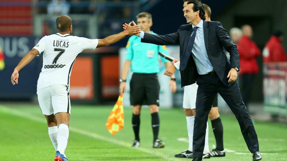 Ben Arfa continue d'en mettre plein la vue à Emery — PSG