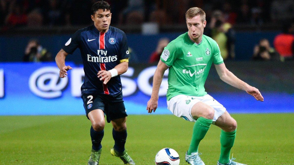 ASSE : Robert Beric s'incline devant la domination du PSG