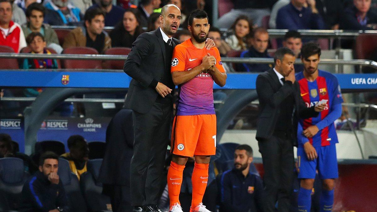 Cette confidence de Pep Guardiola sur l'avenir de Sergio Agüero