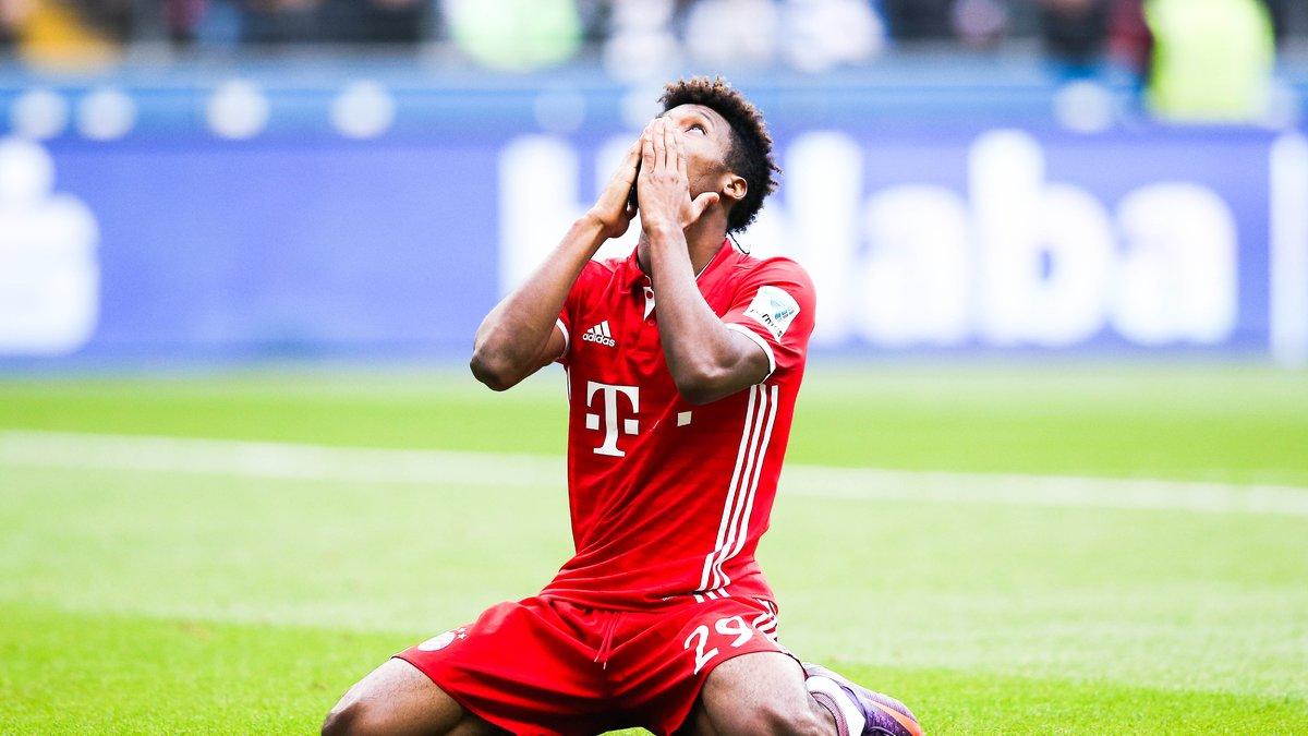 Kingsley Coman absent deux mois des terrains — Bayern Munich