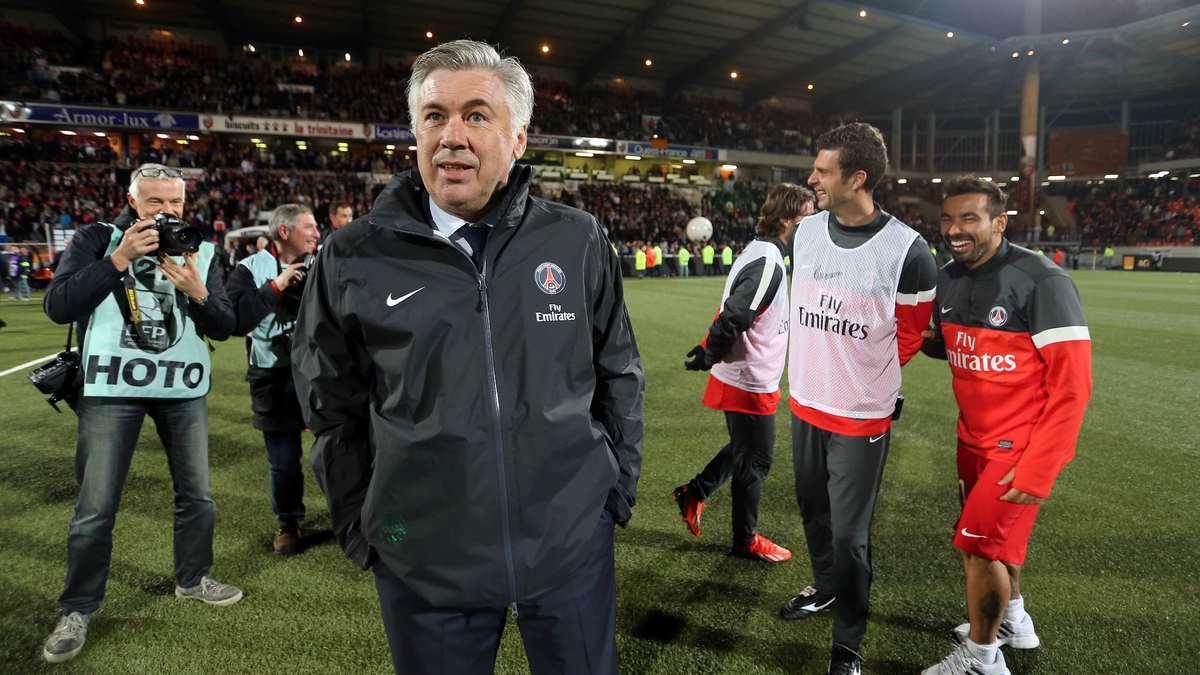 Carlo Ancelotti revient sur son départ du PSG