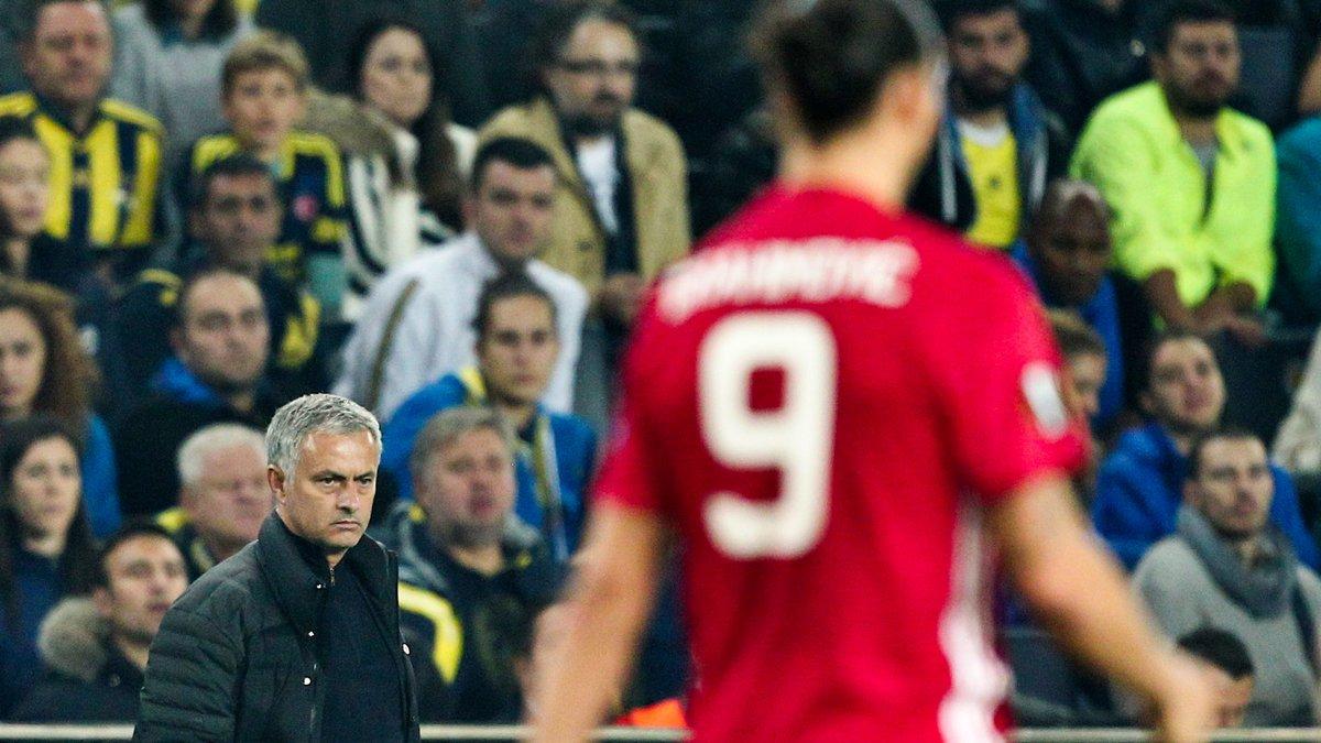 Manchester United : José Mourinho scelle l'avenir de Zlatan Ibrahimovic