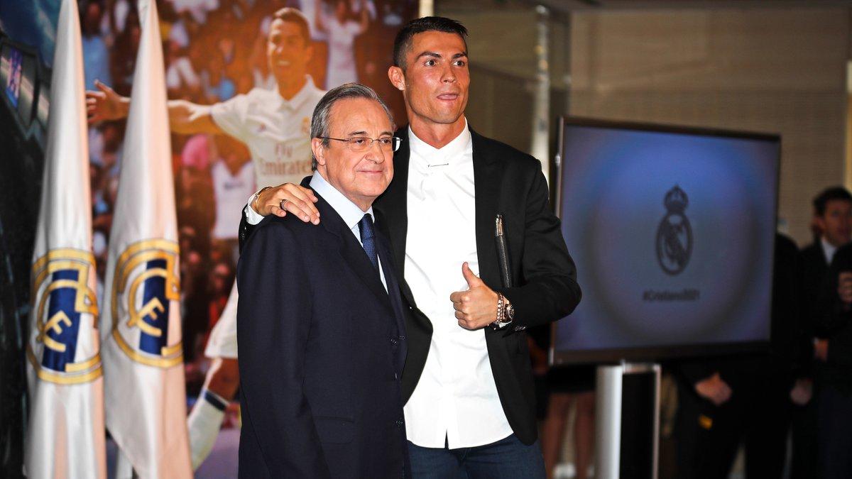 Real Madrid : Quand Pérez menaçait Cristiano Ronaldo… de recruter Messi
