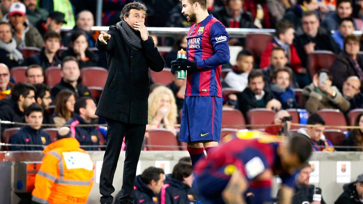Barcelone : Luis Enrique répond ouvertement à... Gerard Piqué