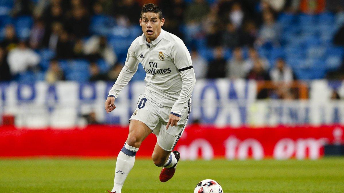 Foot/Espagne - James Rodriguez envisage de quitter le Real Madrid