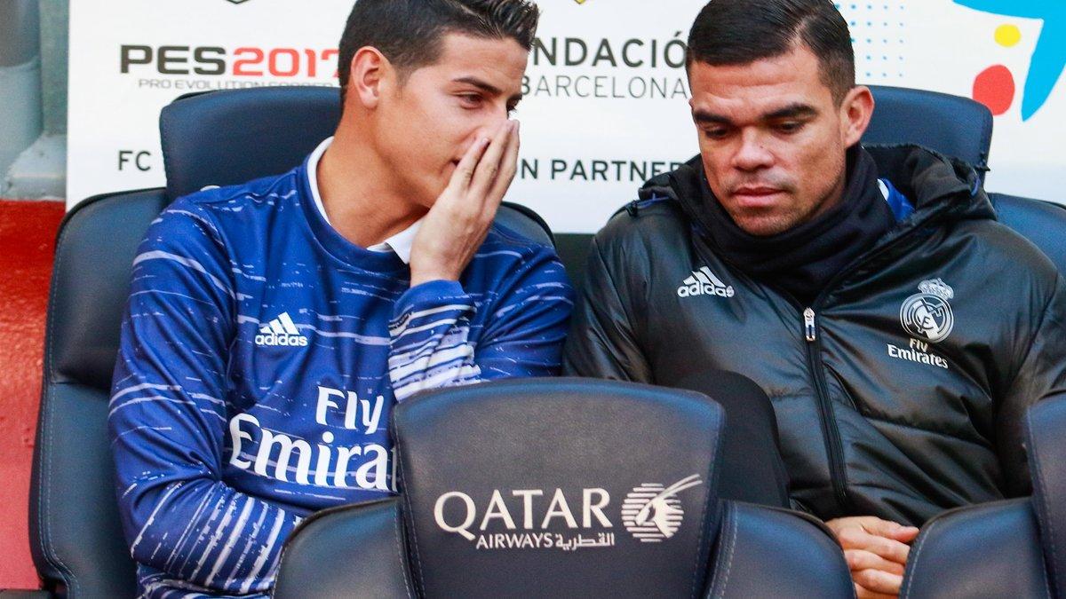 Real Madrid : James Rodriguez jette un grand froid sur son avenir