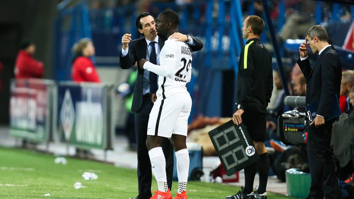 Emery ouvre la porte à Augustin — PSG