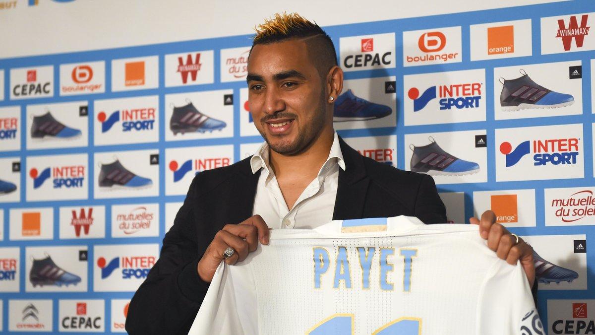 Dimitri Payet voit les choses en grand pour l'Olympique de Marseille