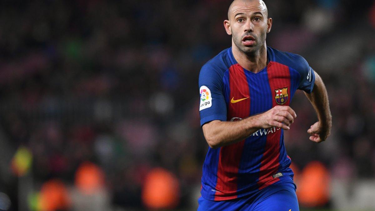 Barça : Mascherano incertain contre le PSG