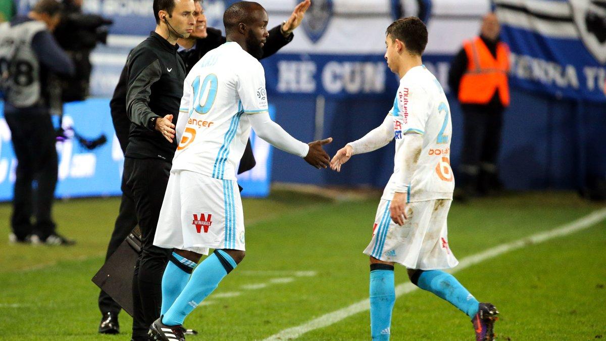 Maxime Lopez remercie Lassana Diarra — OM