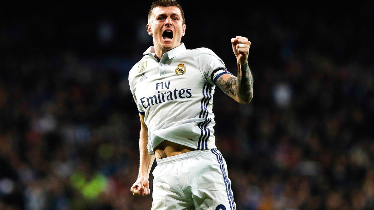 Toni Kroos (Real Madrid) n'a