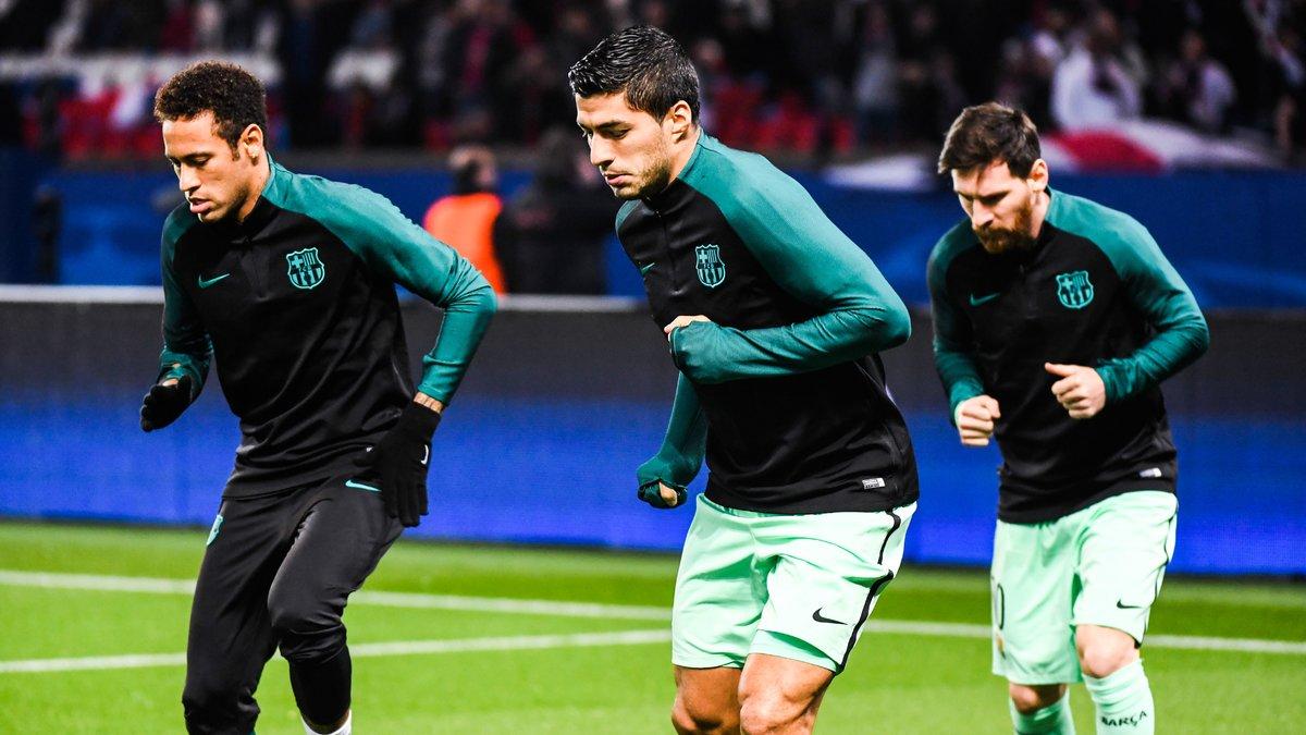 Neymar a promis d'inscrire 2 buts contre le PSG — Ligue des Champions