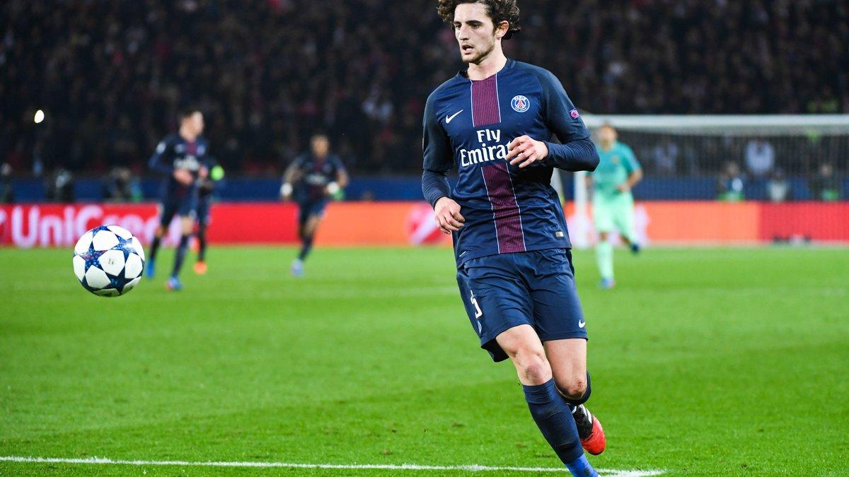 PSG : Adrien Rabiot se poserait des questions pour son avenir