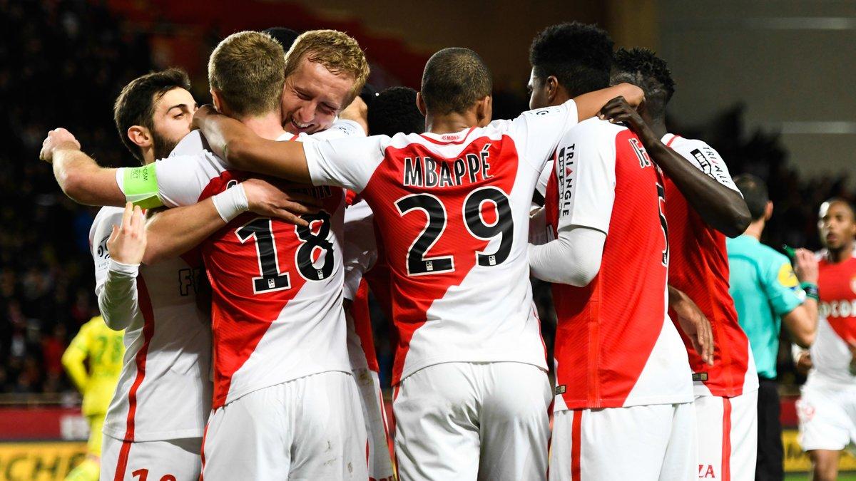 Monaco qualifié pour les quarts de finale de la Ligue des champions