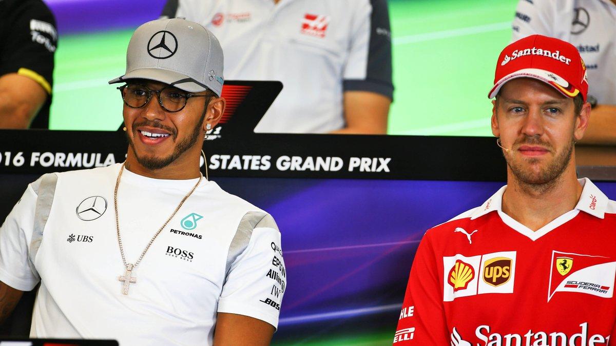 La surprenante punchline d'Hamilton à l'encontre de Vettel
