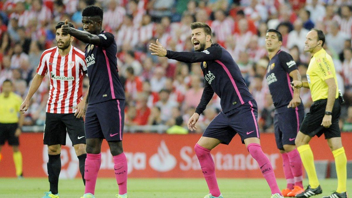Umtiti lance le choc face à l'Espagne — EdF