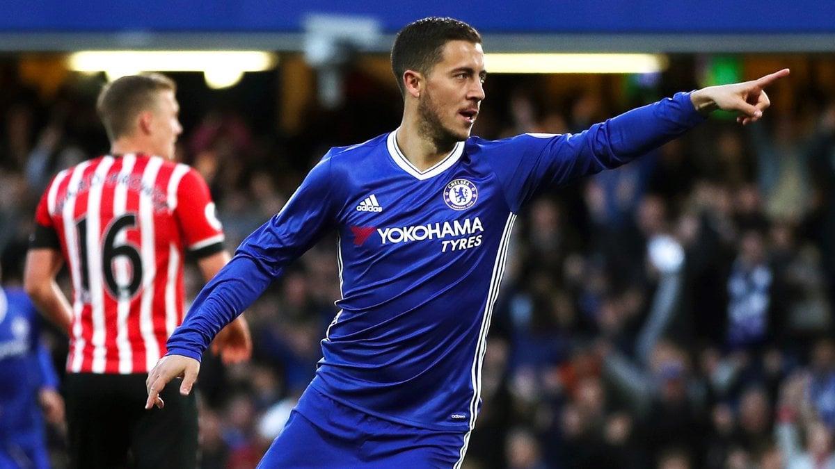 Hazard parle d'une prolongation et de Lukaku — Chelsea