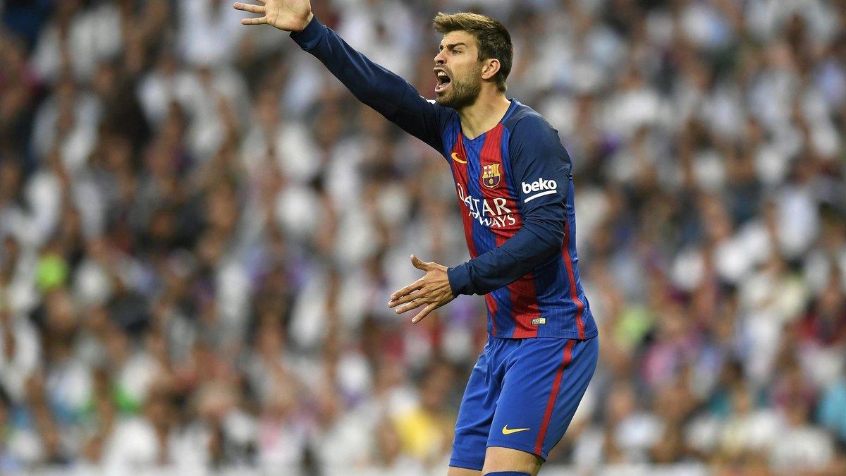 Le coup de gueule de Gerard Piqué contre les médias — Barcelone