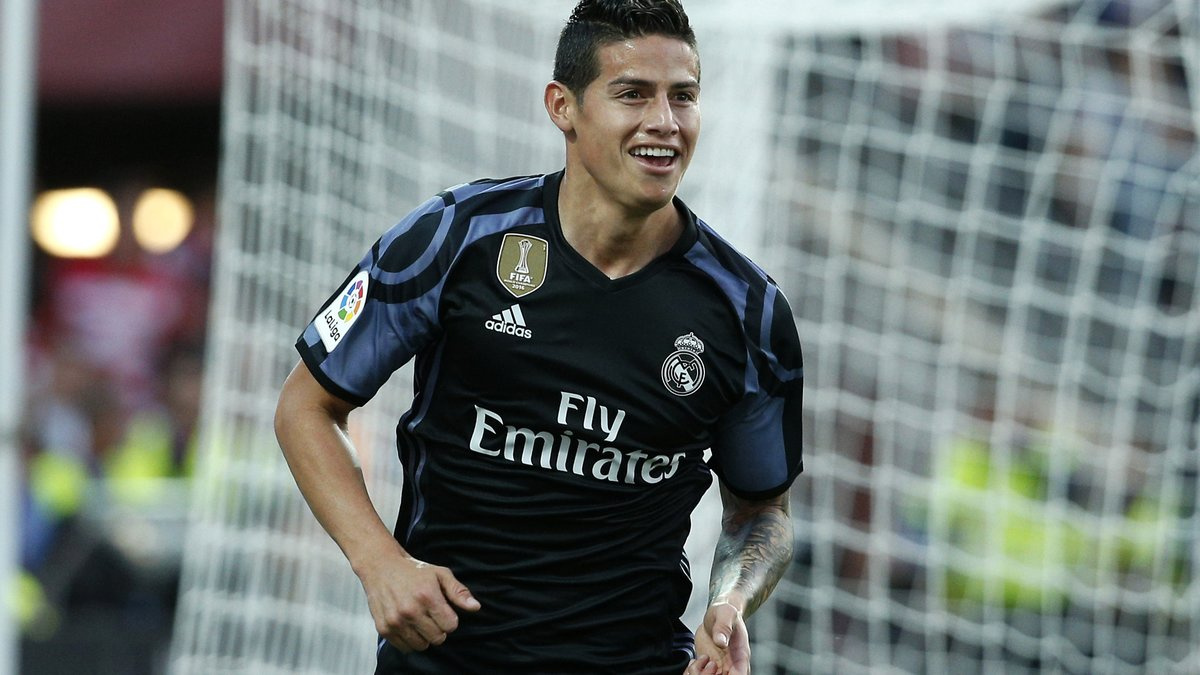James Rodriguez veut forcer son départ — Real Madrid