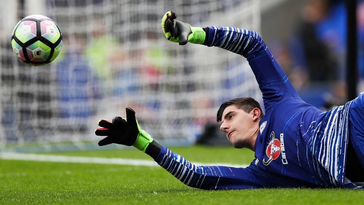 Chelsea : Hazard et Courtois