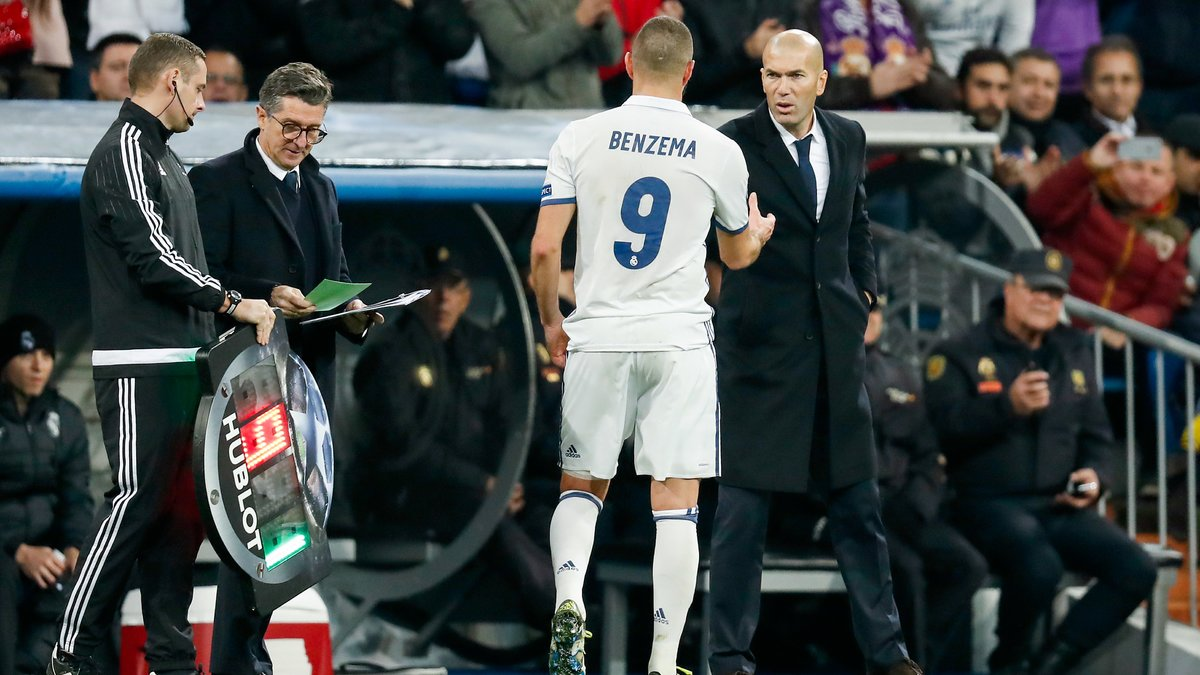 Real Madrid : Zidane s