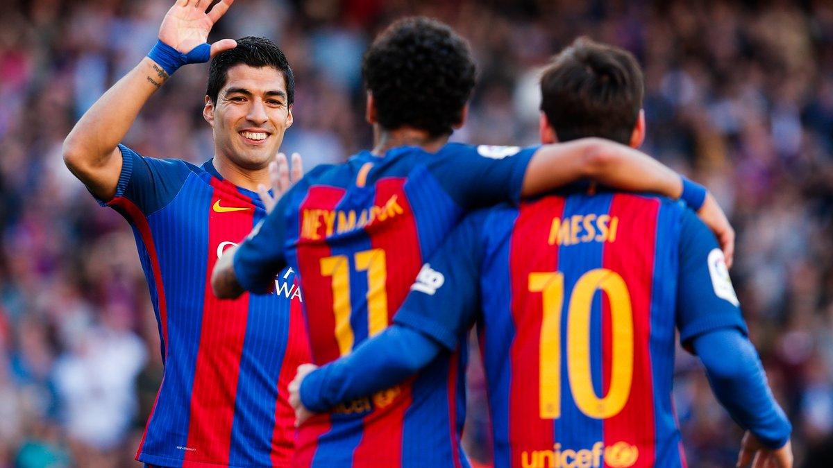 Après Messi, Suarez fait ses adieux à Neymar