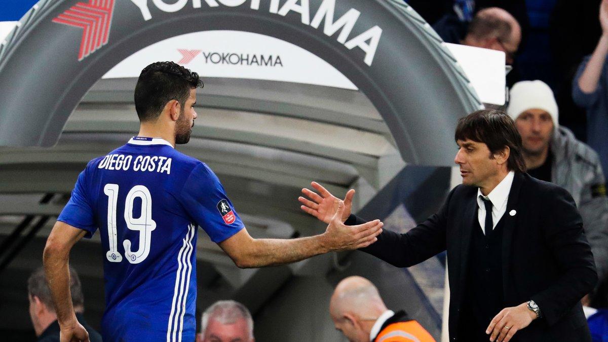 Chelsea : Quand Antonio Conte se prononce sur le dossier Diego Costa