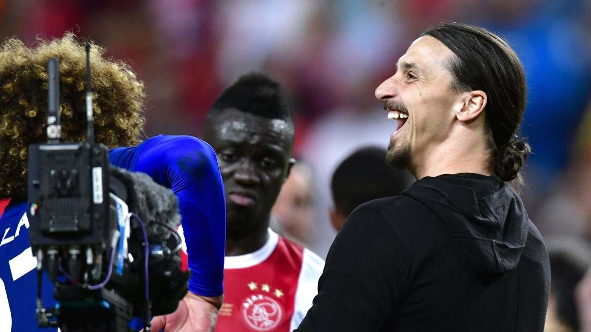 Manchester United : Les confidences de Raiola sur l'avenir de Zlatan Ibrahimovic
