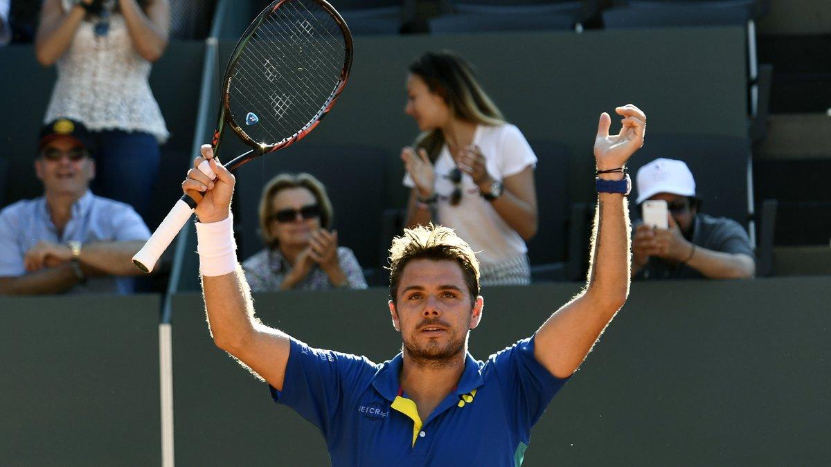 Roland Garros 2017 : Wawrinka en huitièmes de finale