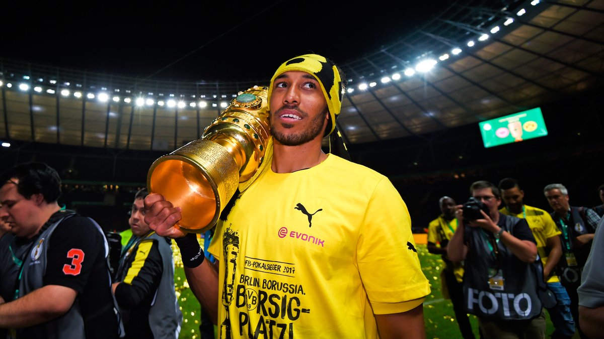 Aubameyang ne partira pas, assure le Borussia — Transfert