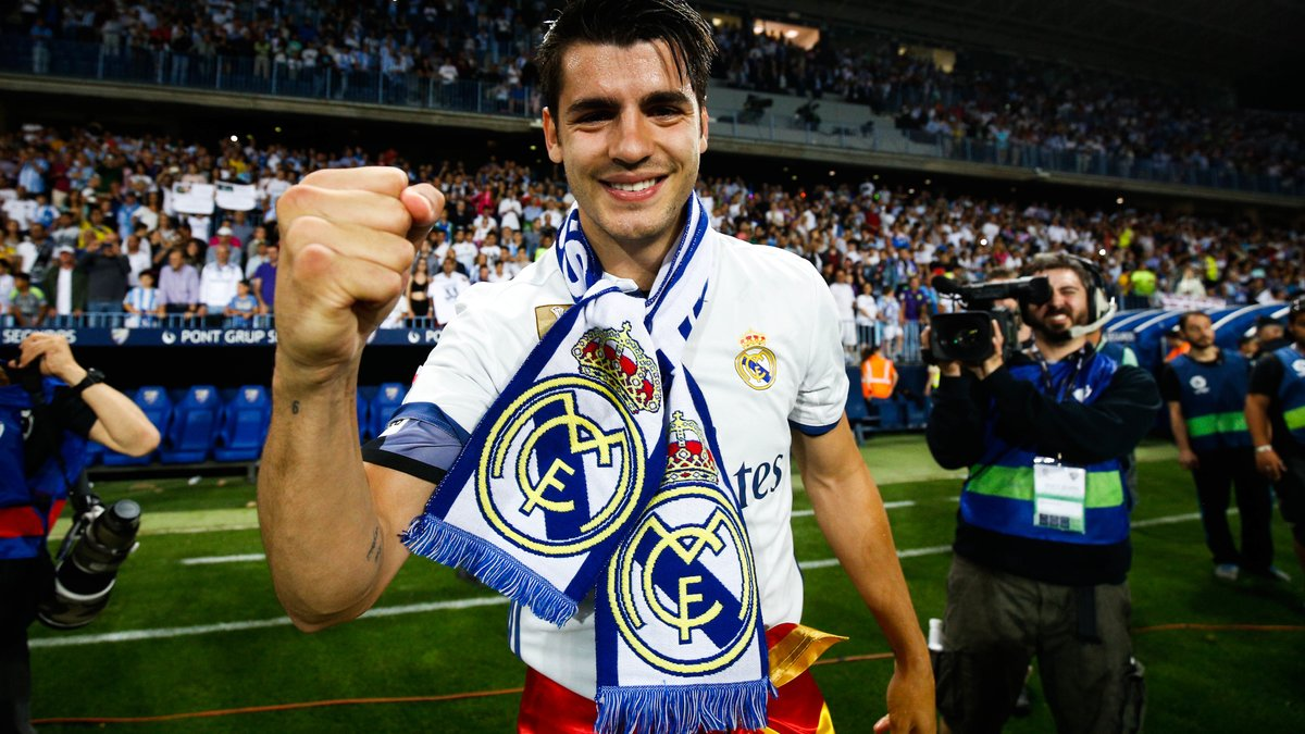 Changement de plan pour Morata — Real