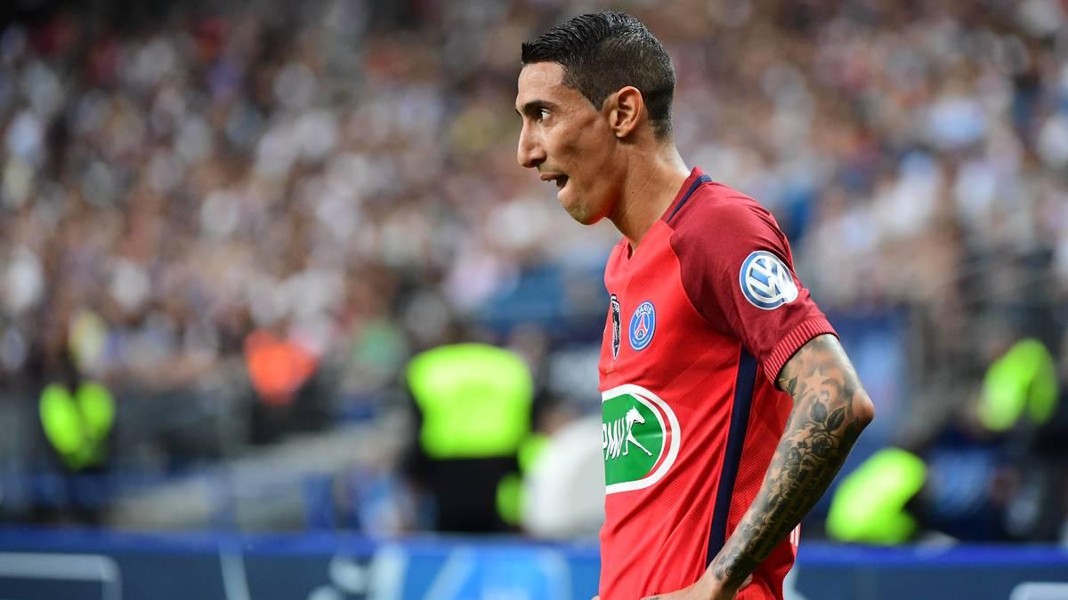 PSG - Mercato : Donné partant, Di Maria donne sa décision à Emery