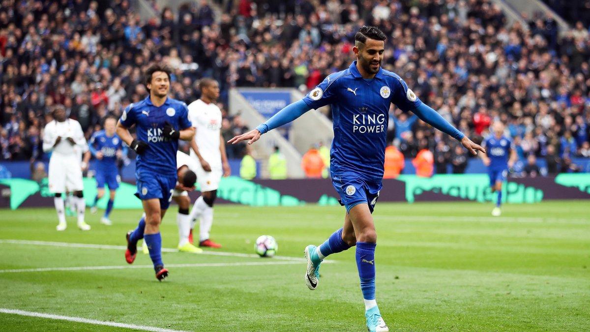 Leicester : la Roma met la pression pour Mahrez