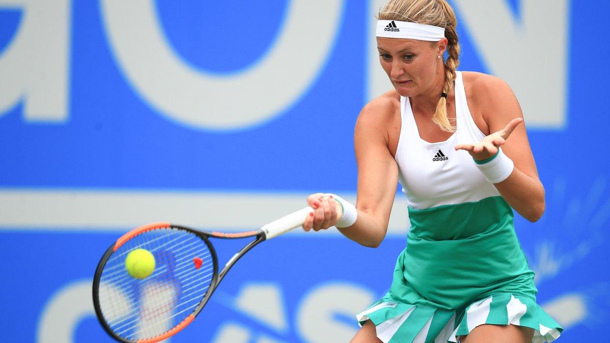 Tennis - Wimbledon : Kristina Mladenovic fustige l'état du gazon