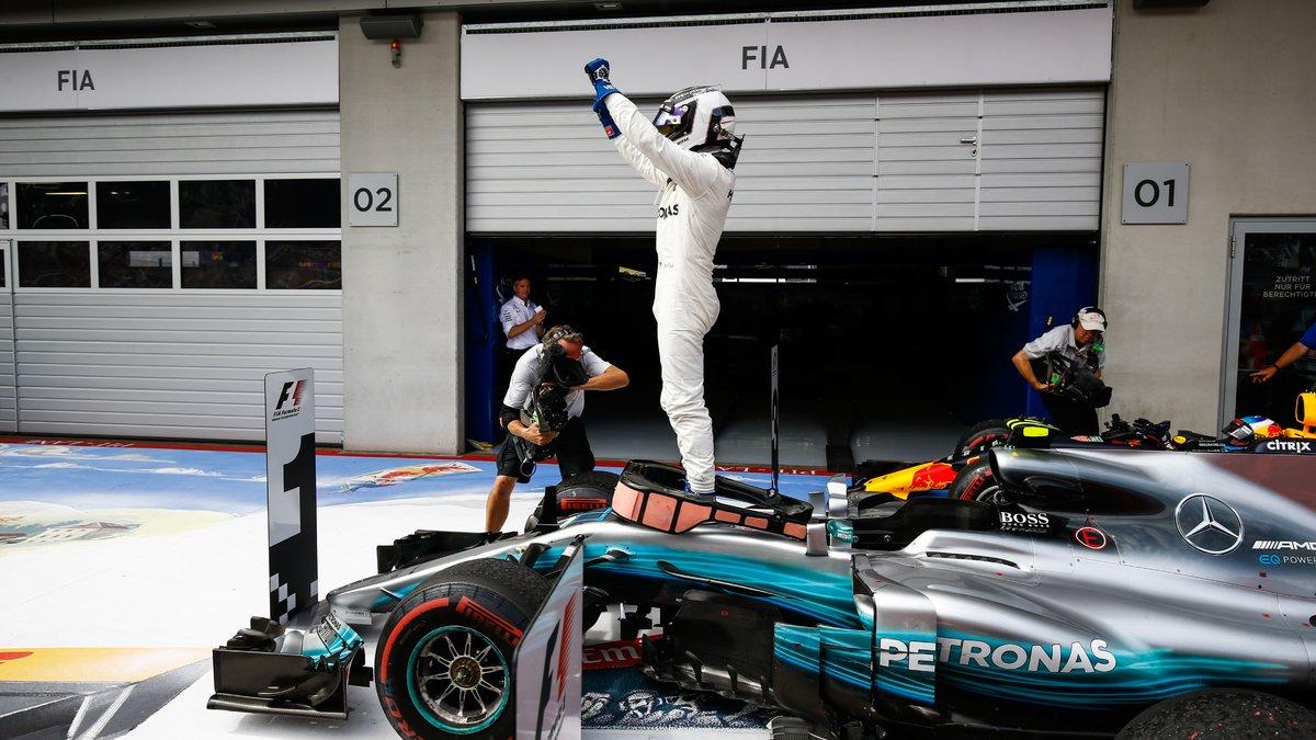 Lewis Hamilton envoie un message fort à Valtteri Bottas