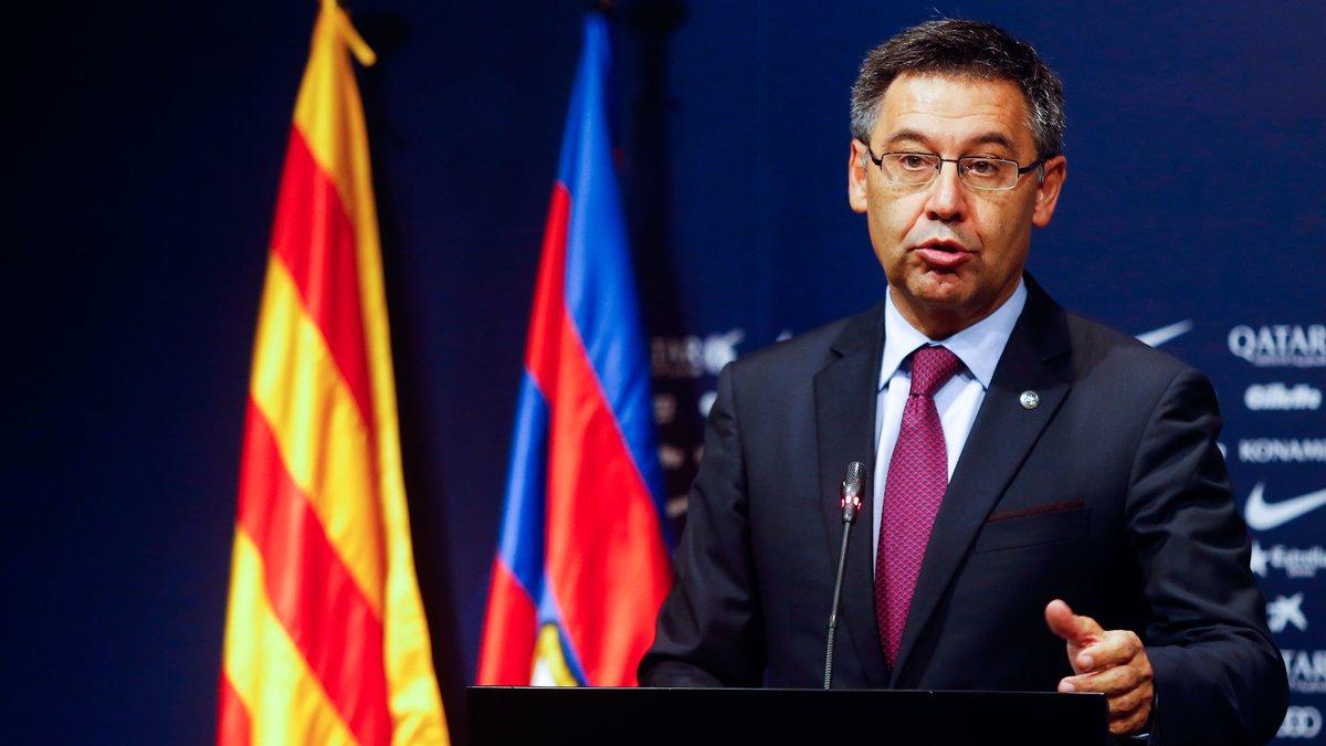 La motion de censure abandonnée contre Bartomeu — FC Barcelone