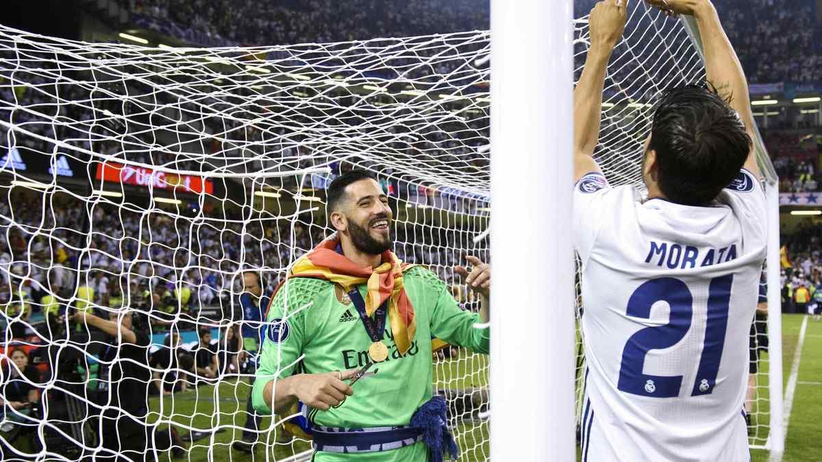 Real Madrid : Un cadre de Zidane se prononce prononce sur l'avenir de Morata