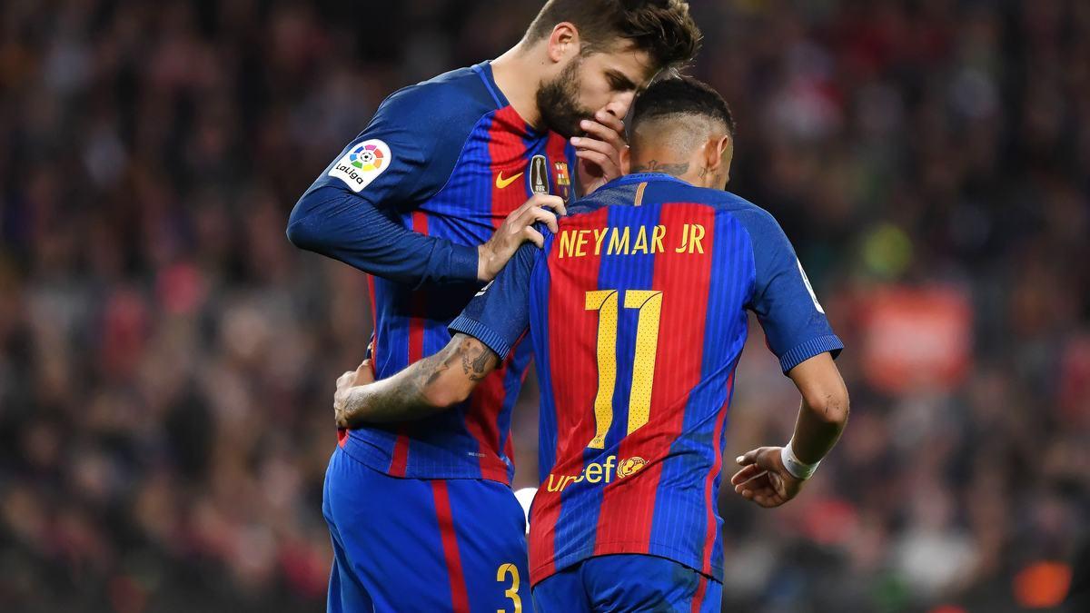 Barça : Piqué n'en veut pas à Neymar