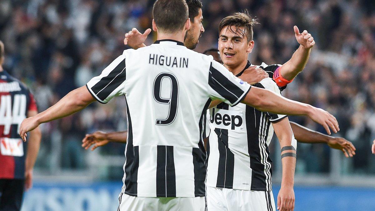 Higuain a un doute pour Dybala — Juventus Turin