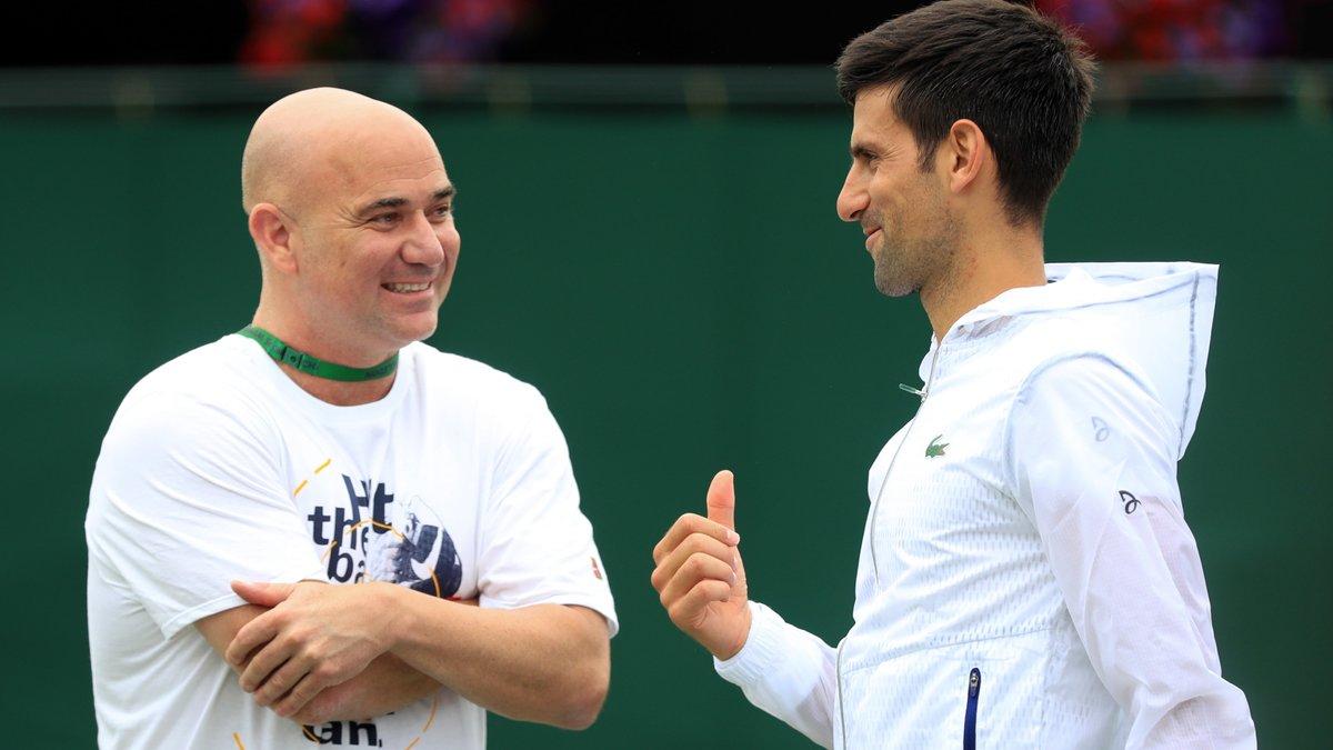 Djokovic rompt ses liens avec Agassi et Stepanek