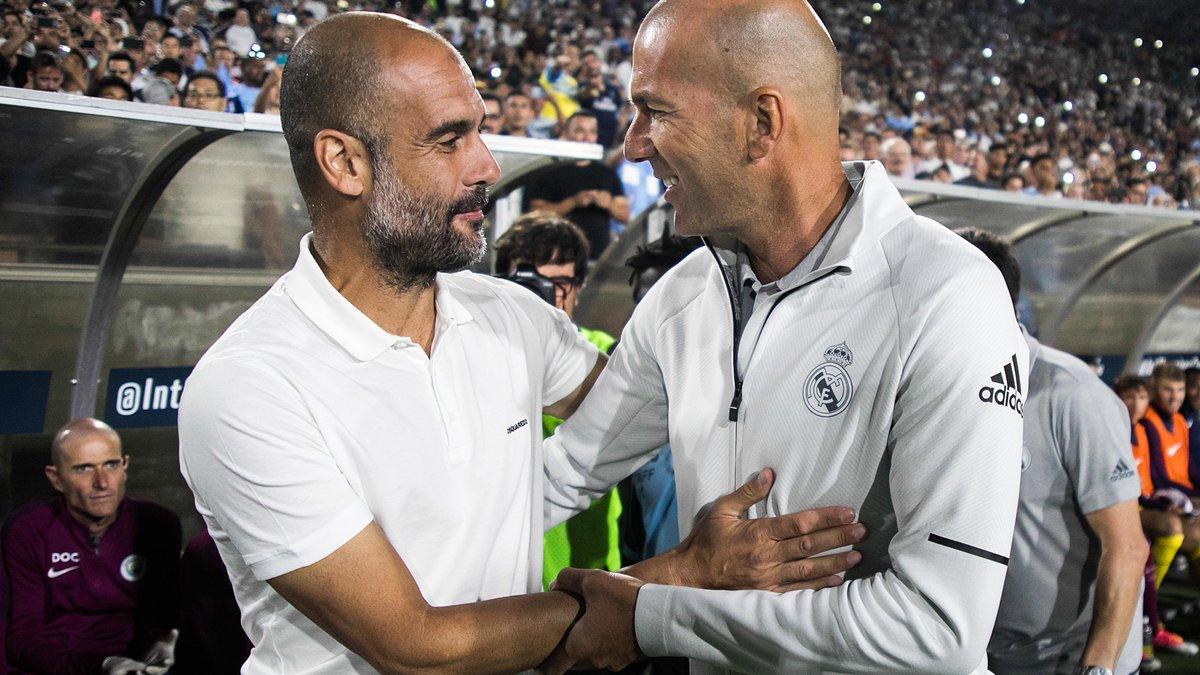 Guardiola s'enflamme totalement pour Zidane